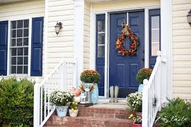 Image result for blUE SHUTTERS AND DOOR